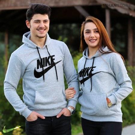 تصویر ست هودی مردانه و زنانه Nike