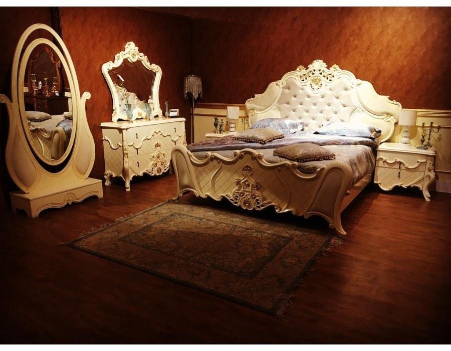 تخت خواب سلطنتی عروس مارینا |