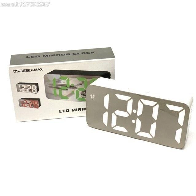 عکس ساعت و دماسنج دیجیتالی رومیزی آینه ای مدل3622X  ساعت-و-دماسنج-دیجیتالی-رومیزی-اینه-ای-مدل3622x