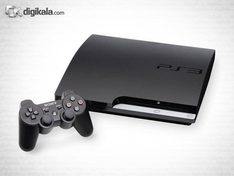 img سوني پلي استيشن 3 - 320 گيگابايت Sony PlayStation 3 (Slim) - 320GB