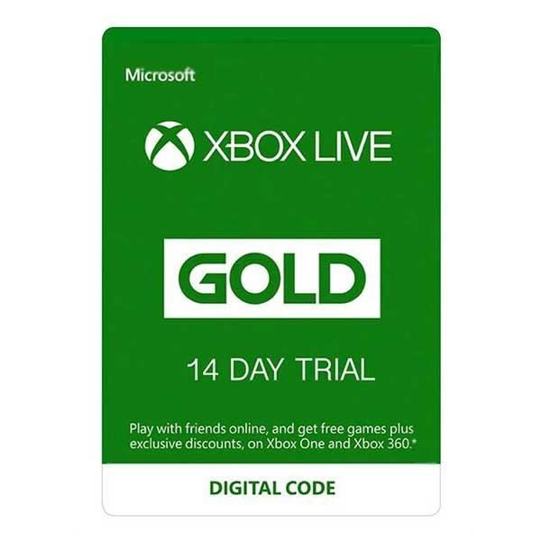 image گیفت کارت XBox Live Gold چهارده روزه