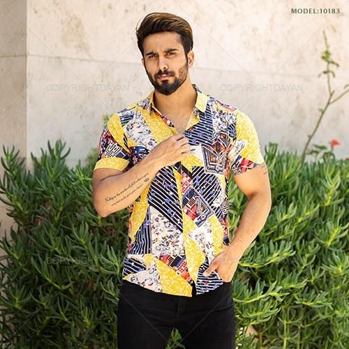 پیراهن مردانه Kiyan مدل 10183 |