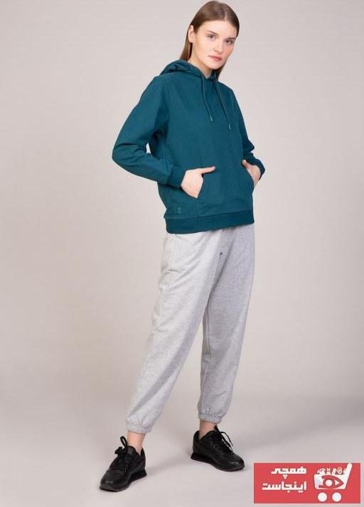 تصویر سویشرت زنانه شیک برند Bediss رنگ آبی کد ty98521365