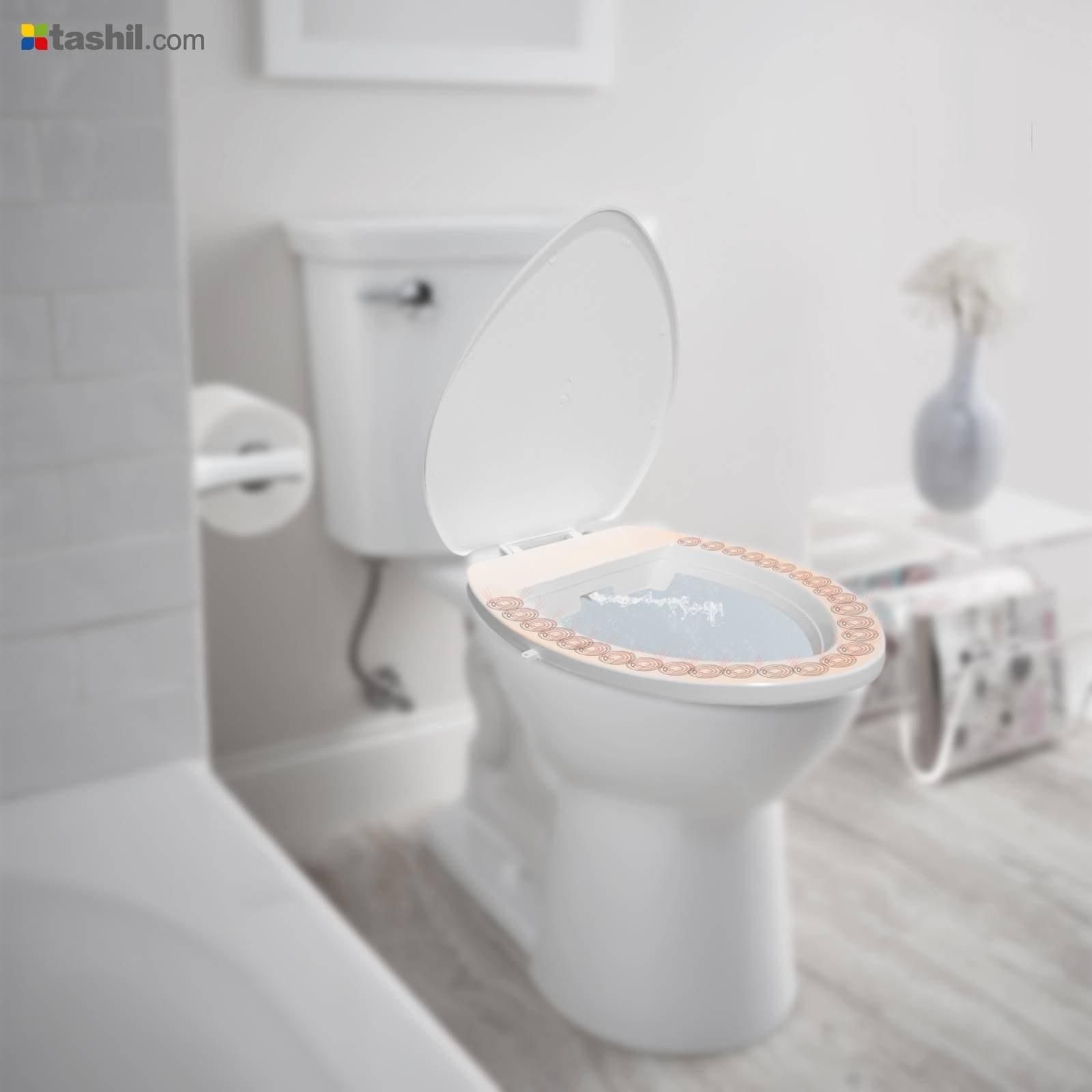 خود شوی توالت فرنگی بدون نیاز به دخالت دست |