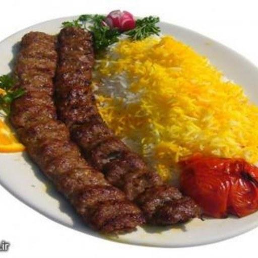 کباب کوبیده دو سیخ