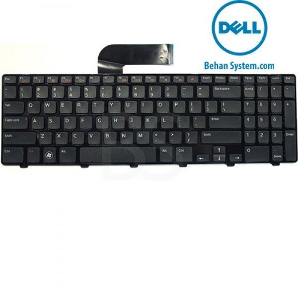 به همراه لیبل کیبورد فارسی جدا گانه | کیبورد لپ تاپ Dell مدل Inspiron N5110