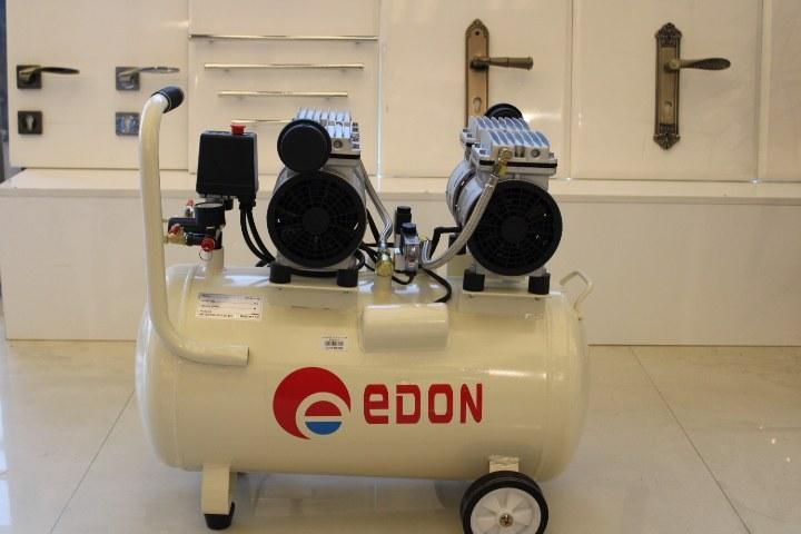 تصویر کمپرسور هوا چرخدار 50 لیتری بی صدا EDON