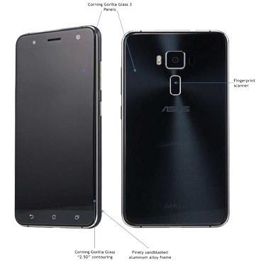 تصویر گوشی موبايل ایسوس مدل Zenfone 3 ZE552KL ظرفیت 128 گیگابایت Asus Zenfone 3 ZE552KL Dual SIM 128GB Mobile Phone
