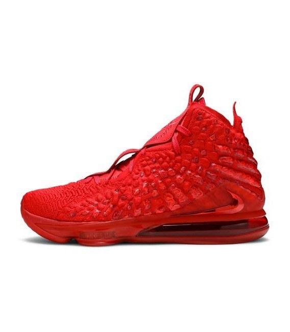 تصویر کفش بسکتبال مردانه نایک Nike LeBron 17 'Red Carpet' BQ3177-600