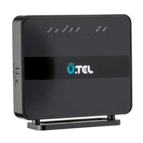 تصویر مودم روتر یو.تل VDSL2/ADSL2 Plus  بی سیم V301 U.TEL V301 Wireless VDSL2/ADSL2 Plus Modem Router