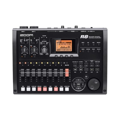 Zoom R8 کارت صدا و رکوردر (کارکرده)