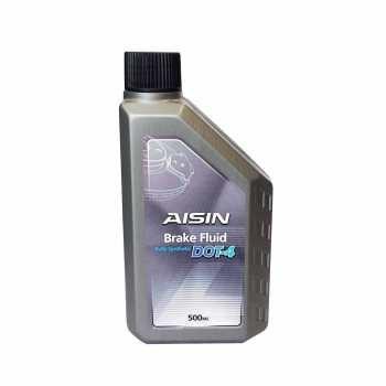 تصویر روغن ترمز خودرو آیسین مدل DOT4 ظرفیت 500 میلی لیتر Aisin DOT4 500mL Car Brake Oil