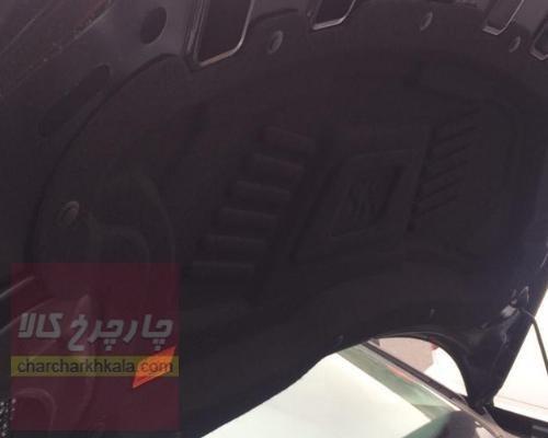 تصویر عایق نمد درب کاپوت پژو 206 صندوقدار اس دی برند سامین خودرو