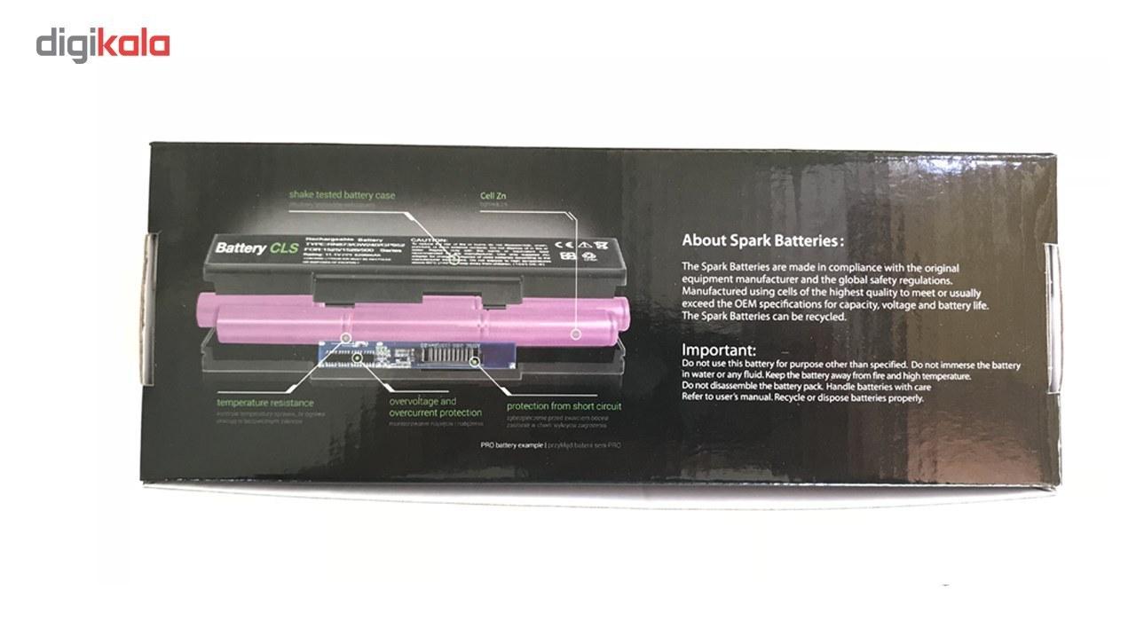 img باتری یوبی سل 4 سلولی مدل A32-K56 مناسب برای لپ تاپ ایسوس             غیر اصل A32-K56 4Cell Ubi Battery For Asus Laptop