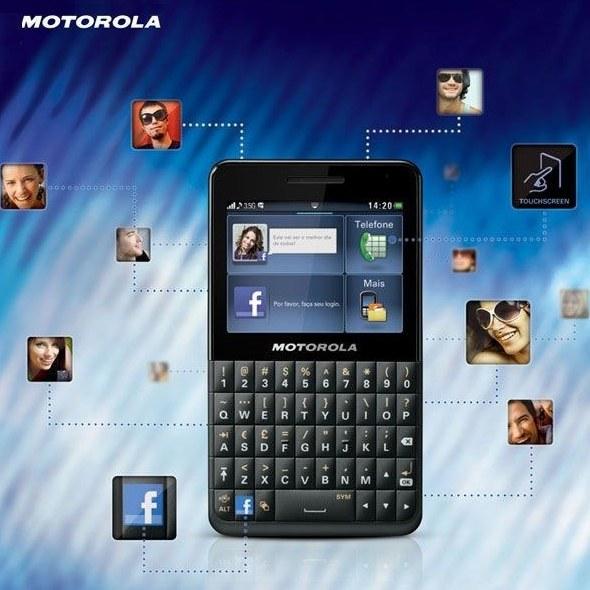 img گوشي موبايل موتورولا موتوکي سوشال Motorola Motokey Social