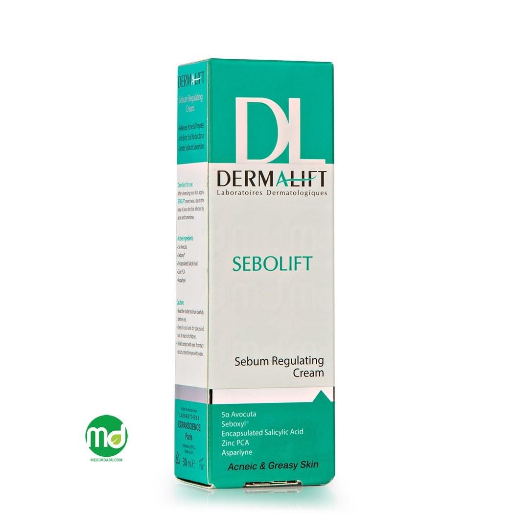 تصویر کرم ضد جوش سبولیفت درمالیفت Dermalift Sebolift Cream
