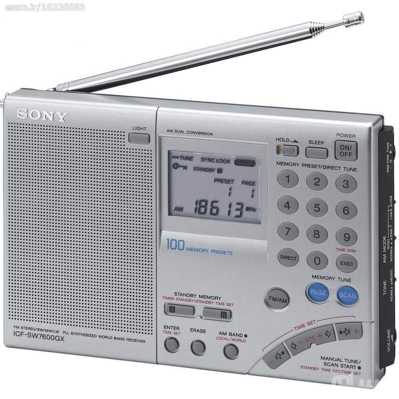 رادیو سونی SONY ICF-SW7600Gr