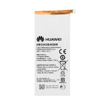 عکس باتری اورجینال هواوی Ascend P7 مدل HB3543B4EBW ظرفیت 2460 میلی آمپر ساعت Huawei Ascend P7 - HB3543B4EBW 2460mAh Original Battery باتری-اورجینال-هواوی-ascend-p7-مدل-hb3543b4ebw-ظرفیت-2460-میلی-امپر-ساعت