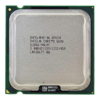 تصویر پردازنده مرکزی اینتل سری Core 2 Quad مدل Q9650 Tray
