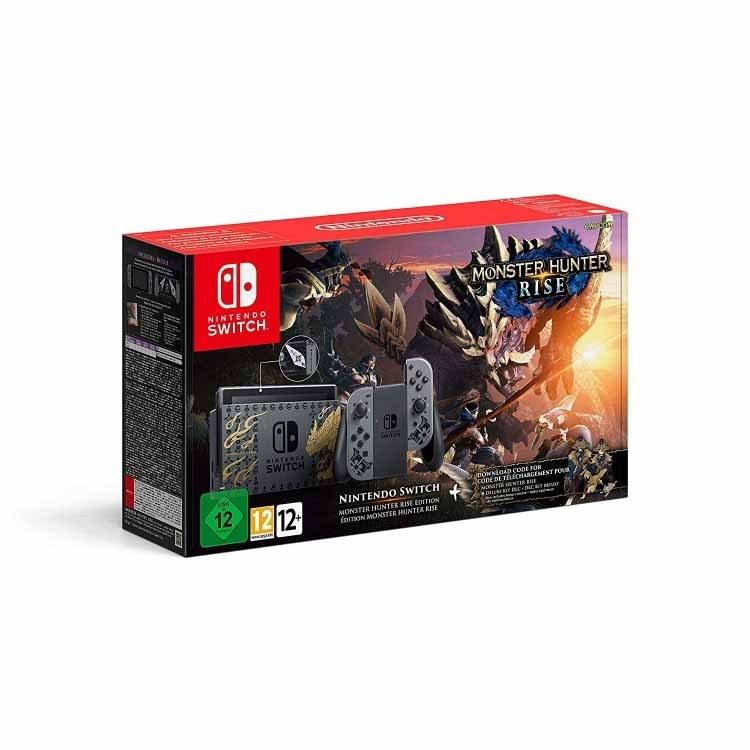 تصویر نینتندو سوییچ باندل بازی Nintendo Switch Monster Hunter Rise