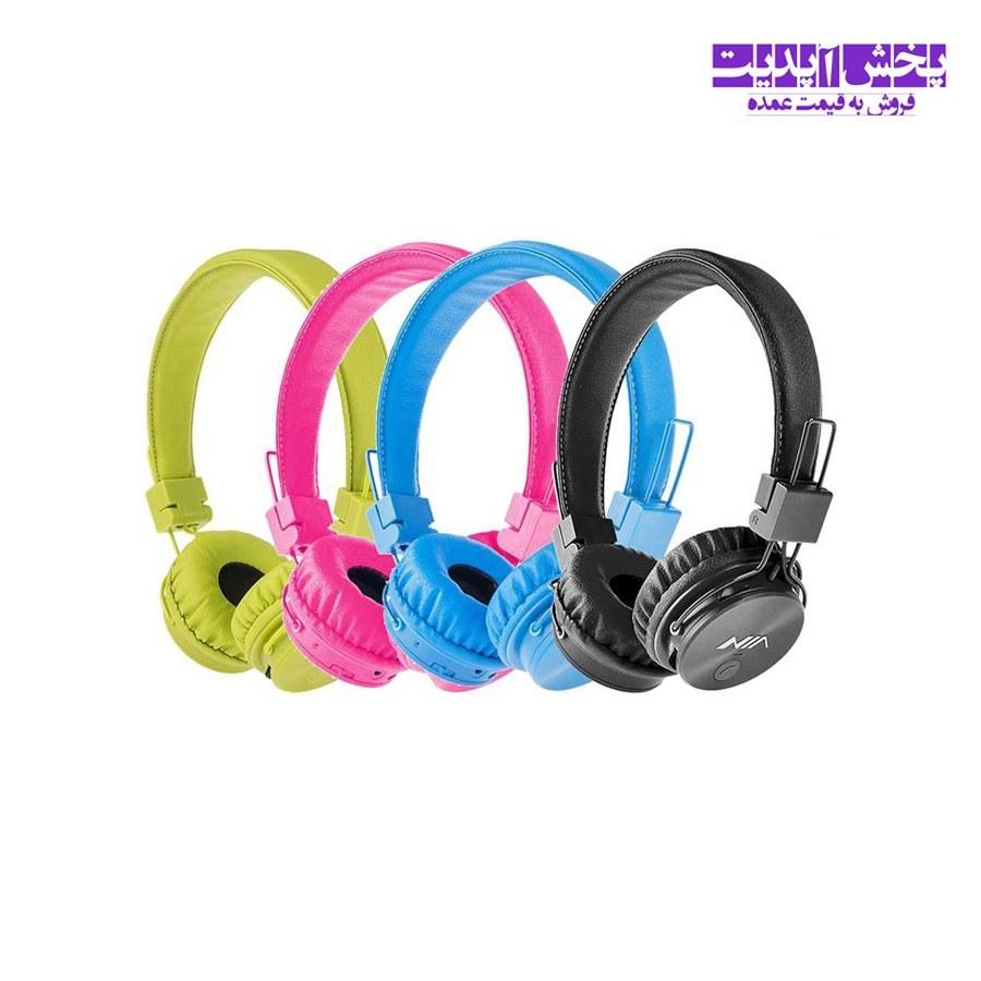 عکس هدفون بی سیم نیا اصل مدل X3 Wireless headphones Nia original model X3 هدفون-بی-سیم-نیا-اصل-مدل-x3