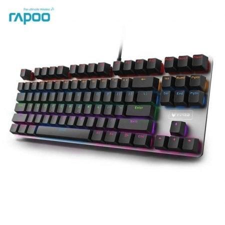 تصویر کیبورد مکانیکی Rapoo مدل V500 Alloy