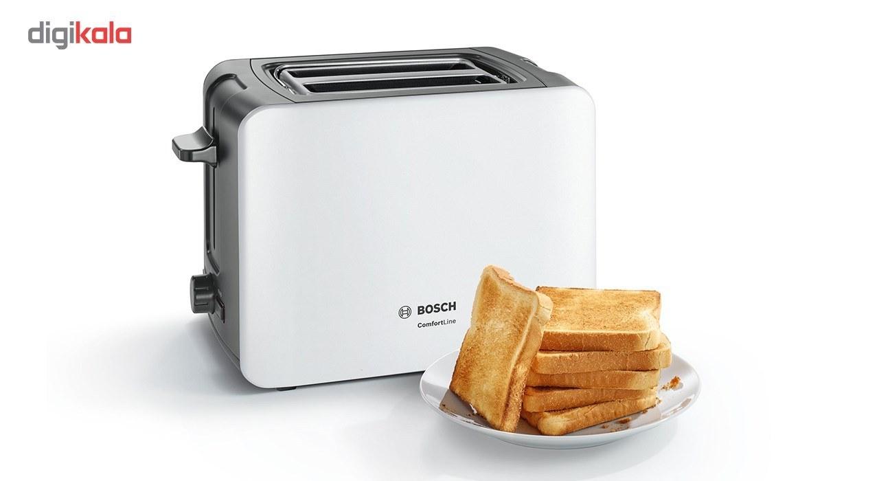 تصویر توستر بوش مدل TAT6A111 Bosch TAT6A111 Toaster