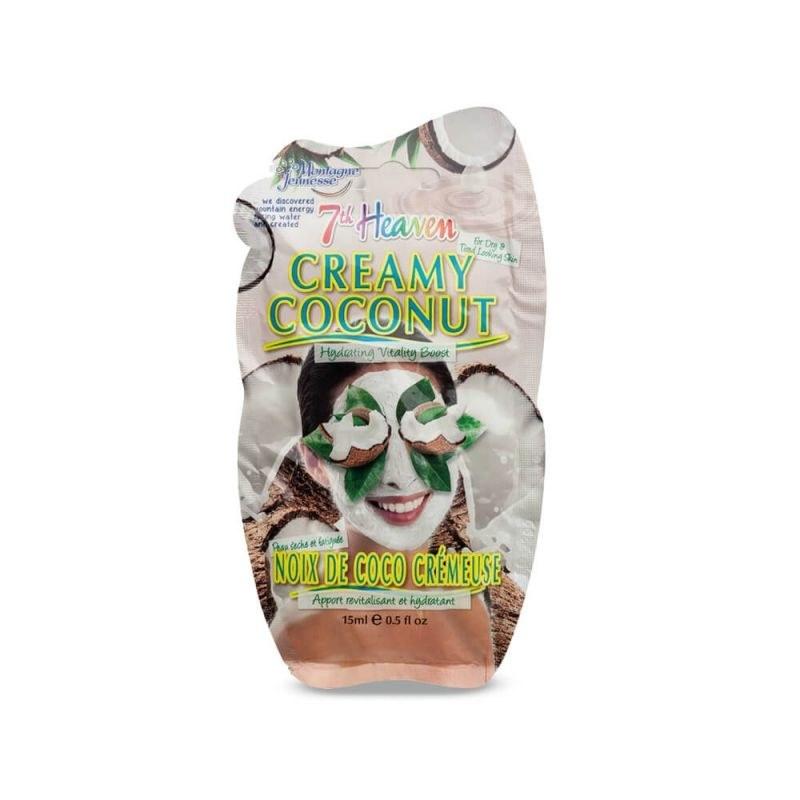 ماسک کرمی عصاره نارگیل مناسب پوست خشک و بی جان مونته ژنه 15 میل