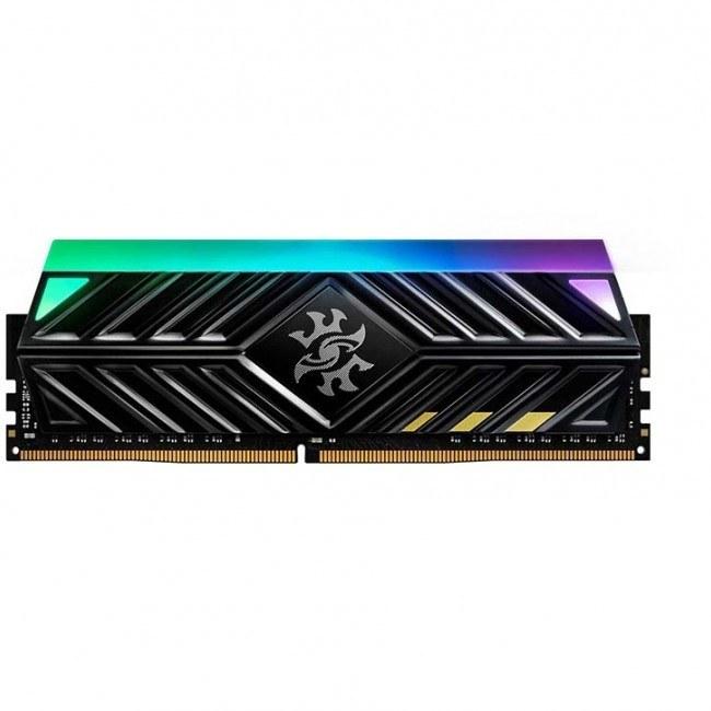 رم دسکتاپ DDR4 دو کاناله 3000 مگاهرتز CL16 مدل XPG SPECTRIX D41 RGB ظرفیت 16 گیگابایت