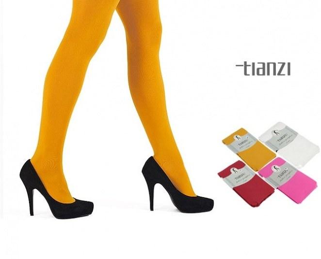 جوراب شلواری رنگی Tianzi