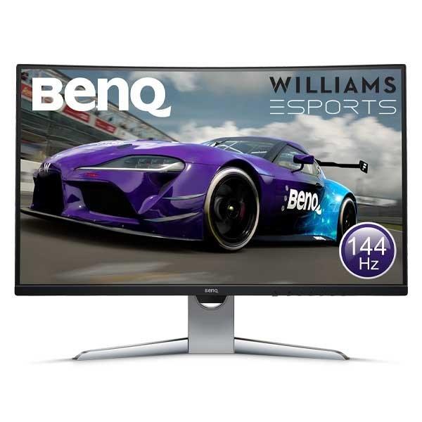 تصویر مانیتور گیمینگ - برند BenQ - مدل EX3203R BenQ EX3203R Curved Gaming Monitor 32 inch WQHD 144Hz Refresh Rate and FreeSync 2 | DisplayHDR 400