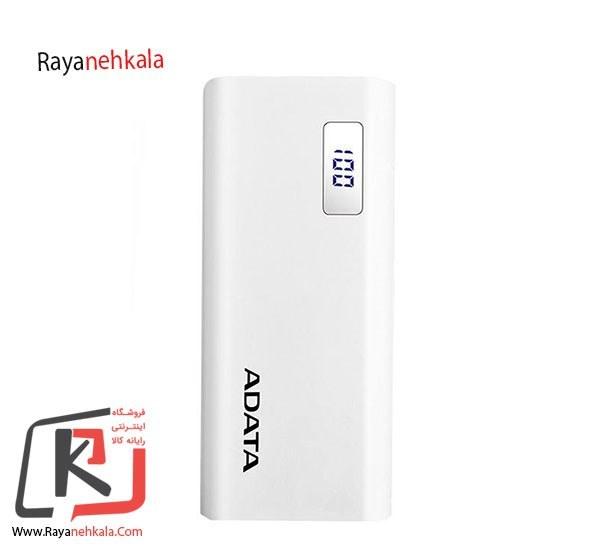 تصویر شارژر همراه ای دیتا مدل P12500D سفید Adata P12500D Power BankWHITE