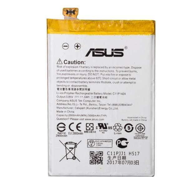 تصویر باتری موبایل مدل C11P1424 با ظرفیت 3000mAh مناسب برای گوشی موبایل ایسوس Zenfone 2