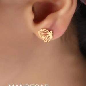گوشواره طلا پروانه