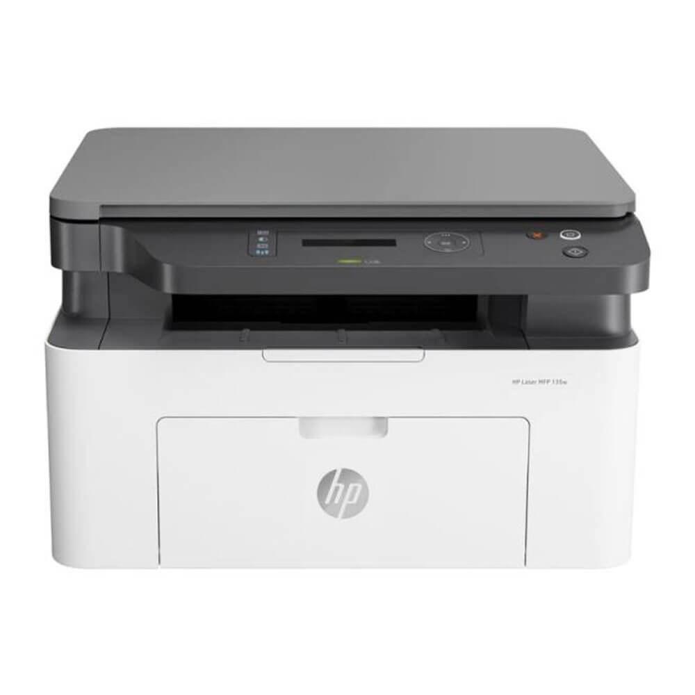 تصویر پرینتر چندکاره لیزری مدل Laser MFP 135w  اچ پی HP Laser MFP 135w Multifunction Laser Printer