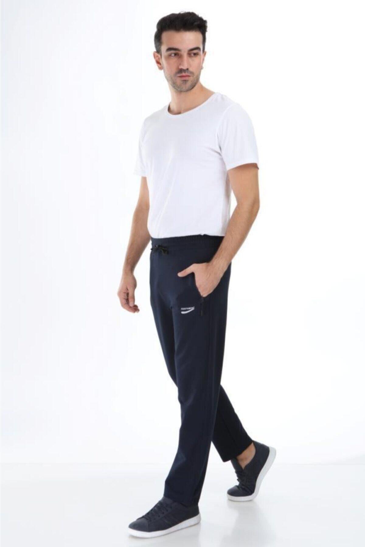 تصویر خرید اینترنتی شلواراسلش مردانه از استانبول برند Jessyamor رنگ لاجوردی کد ty49468494