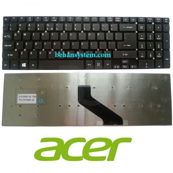 به همراه لیبل کیبورد فارسی جدا گانه | کیبورد لپ تاپ Acer مدل Aspire E1-572