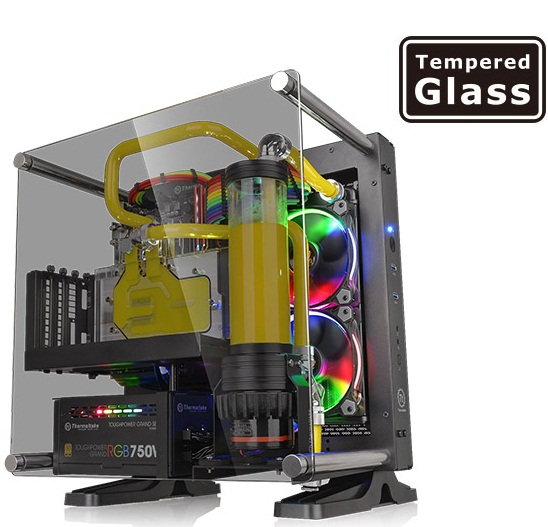 کیس ترمالتیک مدل Core P۱ TG | Thermaltake Core P1 Tempered Glass Mini ITX Wall-Mount Case