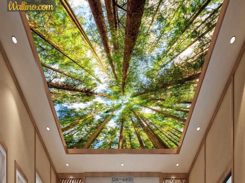 تصویر کاغذ دیواری سه بعدی سقف DA-4400
