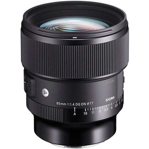 تصویر لنز سگیما Sigma 85mm f/1.4 DG DN Art Lens for Sony E با مانت سونی