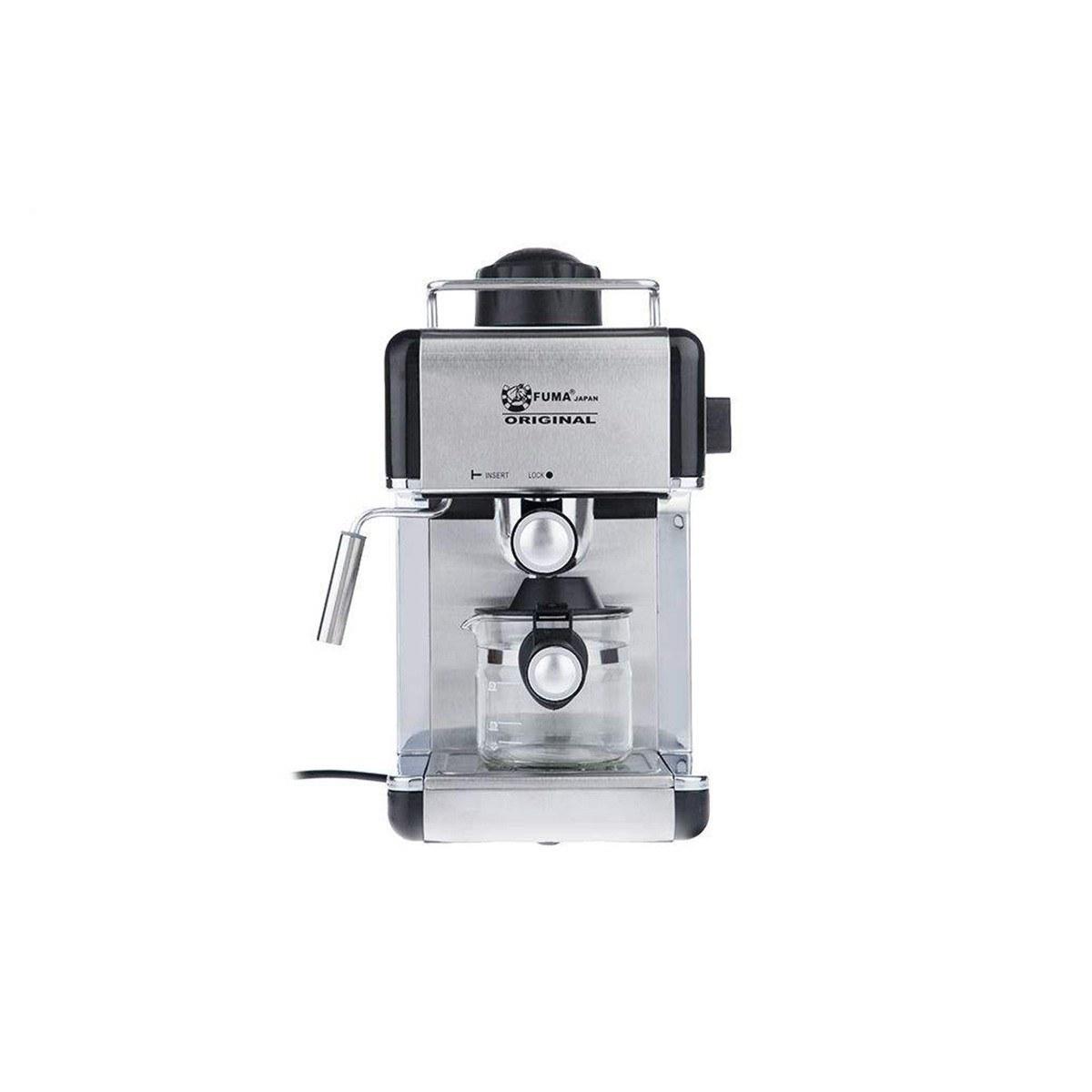 تصویر اسپرسو ساز 800 وات فوما Fuma Espresso Maker 800W FU-1510 Fuma Espresso Maker 800W 2.4L FU-1510