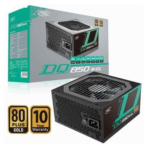 تصویر پاور گیمینگدیپ کول 850 وات DeepCool DQ850-M-V2L فول ماژولار ا (DeepCool DQ850-M-V2L 850W ATX12V / EPS12V 80 PLUS Gold Certified Fully Modular Power Supply) (DeepCool DQ850-M-V2L 850W ATX12V / EPS12V 80 PLUS Gold Certified Fully Modular Power Supply)