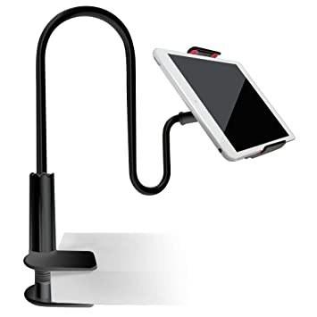 تصویر پایه نگهدارنده رومیزی گیره ای موبایل و تب لت