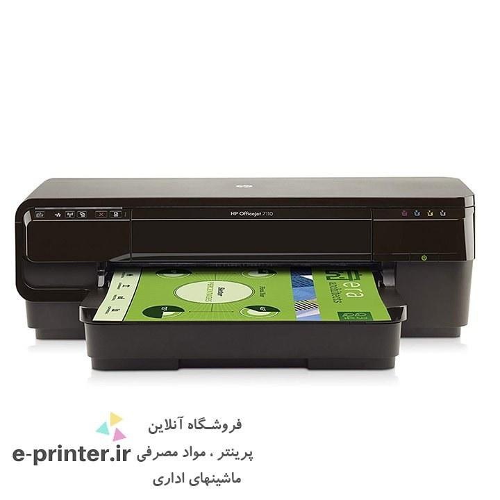 تصویر HP Officejet 7110 Inkjet Printer پرینتر جوهر افشان اچ پی مدل ۷۱۱۰ با قابلیت چاپ A۳