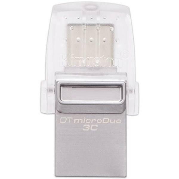 main images فلش مموری کینگستون مدل DTDUO۳C ظرفیت ۱۲۸ گیگابایت KingSton DTDUO3C 128GB USB Type C Flash Memory