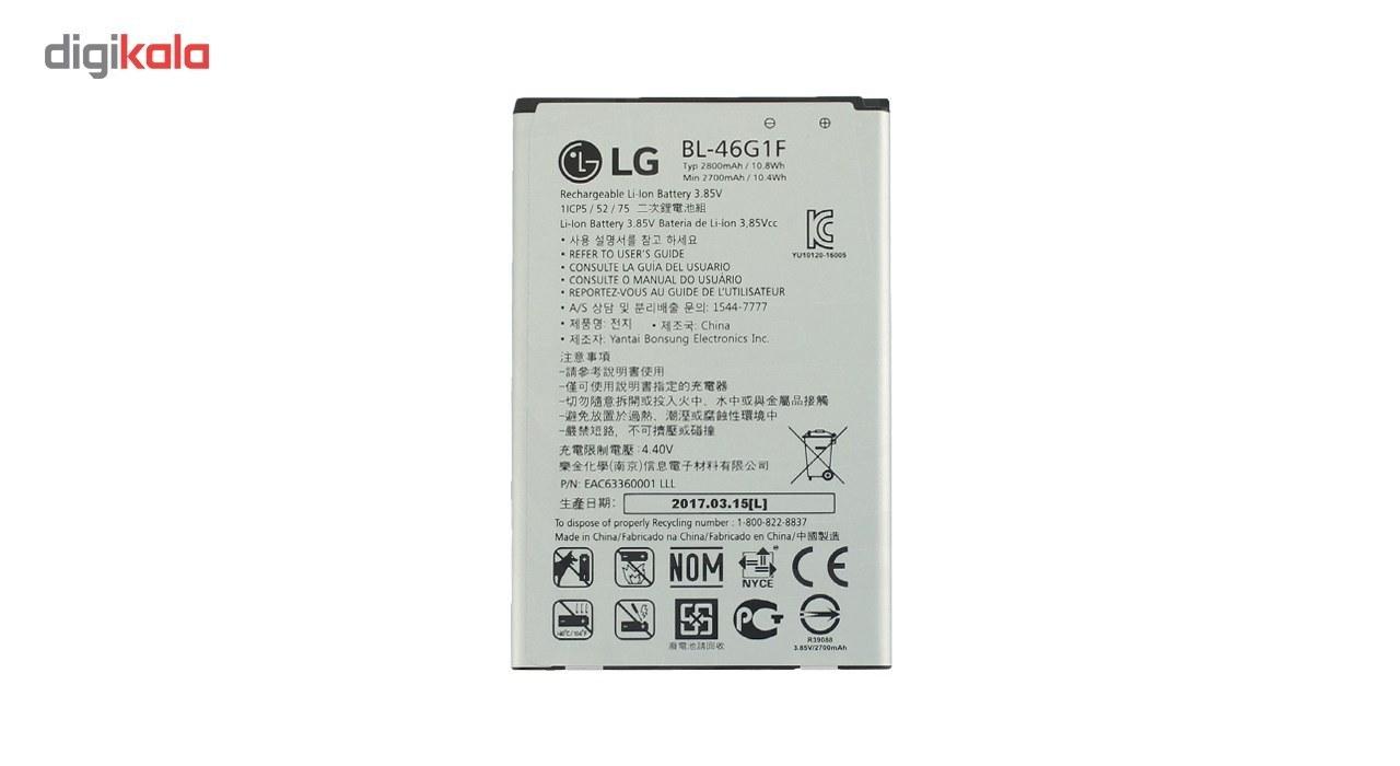 تصویر باتری الجی  LG K10 (2017) - BL-46G1F LG K10 (2017) - BL-46G1F Battery