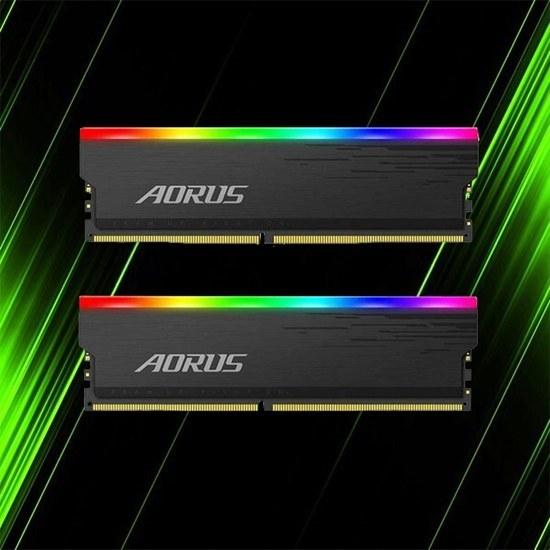 تصویر رم گیگابایت AORUS RGB 16GB 2x8GB 3333MHz CL18