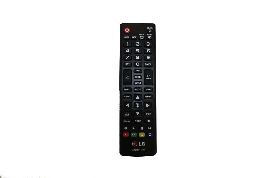 عکس کنترل تلویزیون ال جی LG مدل 605 LG TV REMOTE M:605 کنترل-تلویزیون-ال-جی-lg-مدل-605
