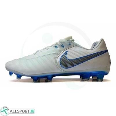 کفش فوتبال نایک تمپو سفید Nike Tiempo 2018