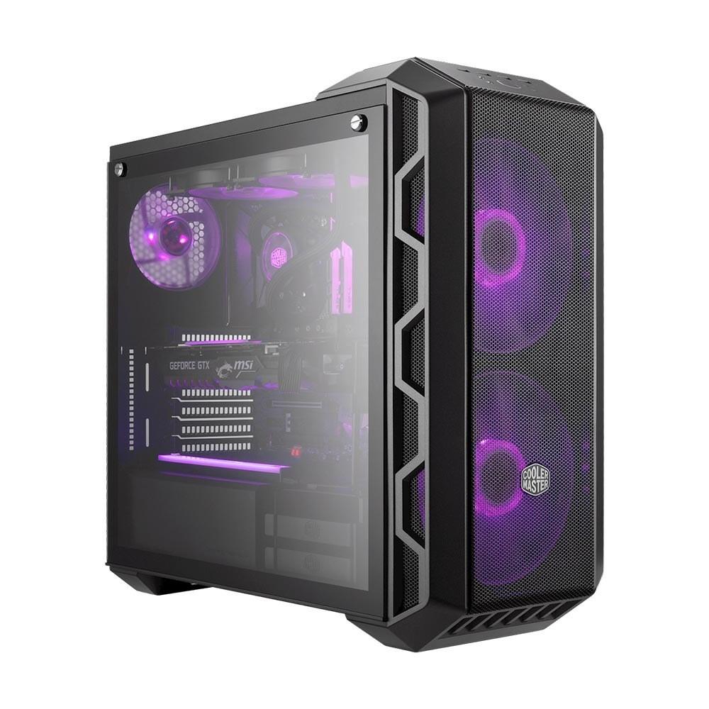 تصویر کیس کامپیوتر کولر مستر مدل H500 Cooler master Awest H500 computer Case